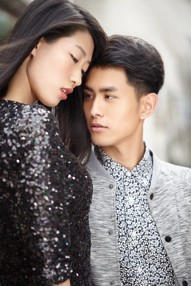 Lifestyle fashion for ESEE Model Management in Shanghai, China. Shanghai photographer with studio creates lifestyle fashion photography for advertising and marketing materials.